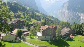 שוויץ אינטרלקן מפות מפה אינטראקטיבית